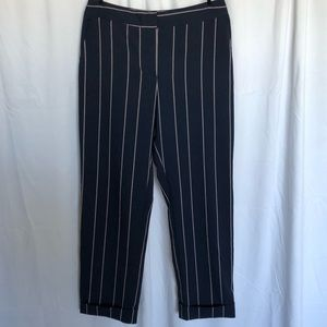 Asos Striped Blue Trousers